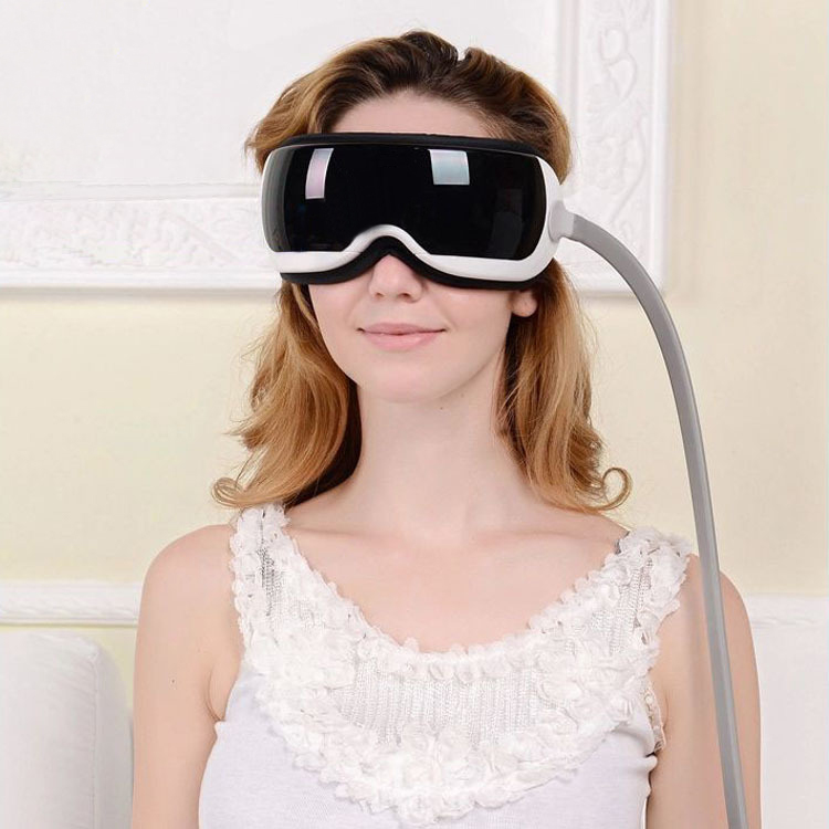Hot Sale Eye and Temple Massager with MP3 Storage Home Care Monitor Works for your eyes and the surrounding areas Eye Massager paul temple and the harkdale robbery