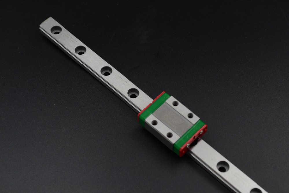 ФОТО High Quality MGN9  L300mm + MGN9C or MGN9H linear block miniature linear motion guide for kossel 3D printer