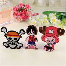 One Piece Pirate Skull Embroidered Sewing Patch