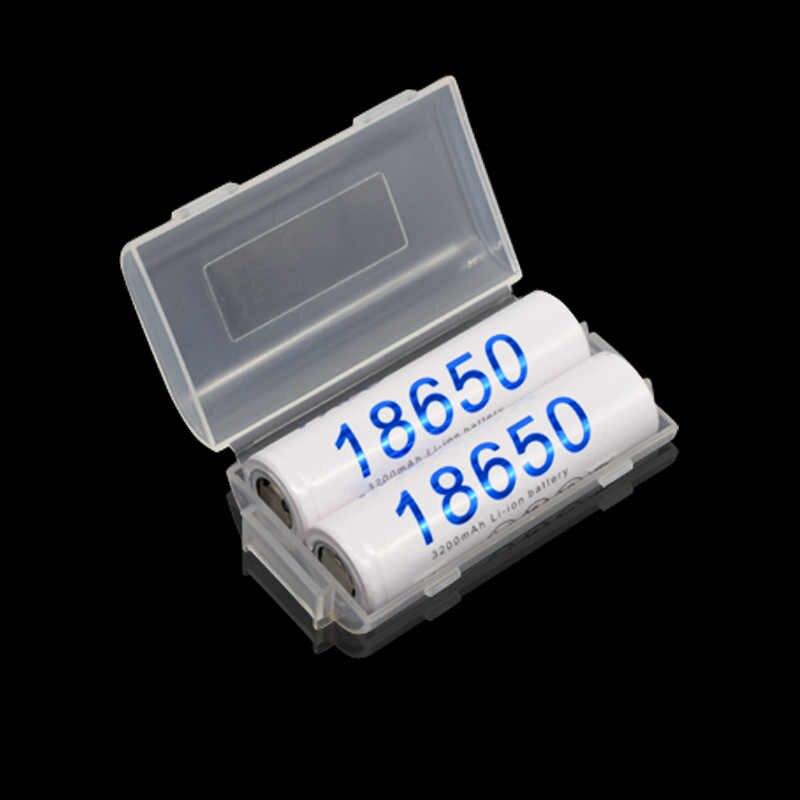 Пало 4 шт. 18650 3200 мАч 3,7 в литий-ионный перезаряжаемые батареи + батарея комплекты зарядных устройств для AA AAA 18650 14500 16350 светодиодный фонарик
