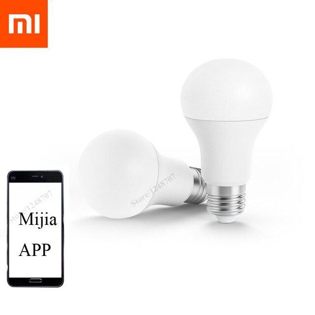 Marvelous Xiaomi Smart Remote Bulb LED Light Mijia Bulb Smart APP WIFI Remote Control  Lamp Bulb Work