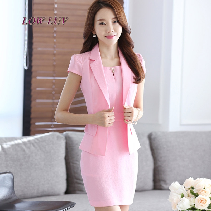 New Women Business Suits Blue Womens Pants Suit Slim Fit Suit Jackets With Pants Office Ladies Formal Ol Pants Work Wear Suits Unequal In Performance Suits & Sets Pant Suits