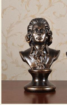 crafts decor living room creative household piano table inspired the decoration of the sculpture a musician