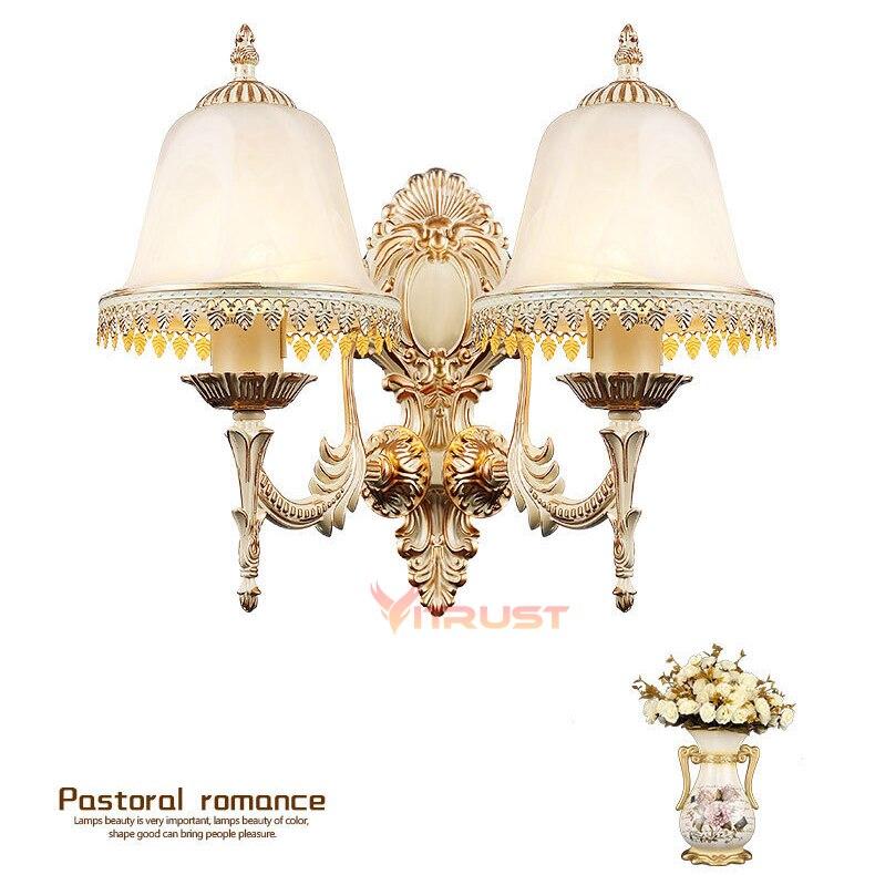 European Brief Wall Light Modern Bedroom Reading Lighting Corridor E27 LED Sconce Wall Lights Indoor Home Wall Lamp