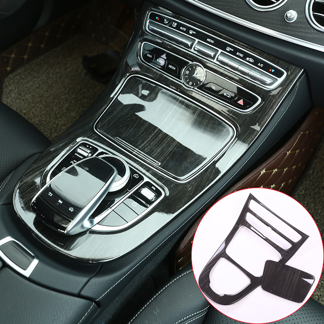 4 Color Center Console Gear Panel Frame Cover Trim Stickers For