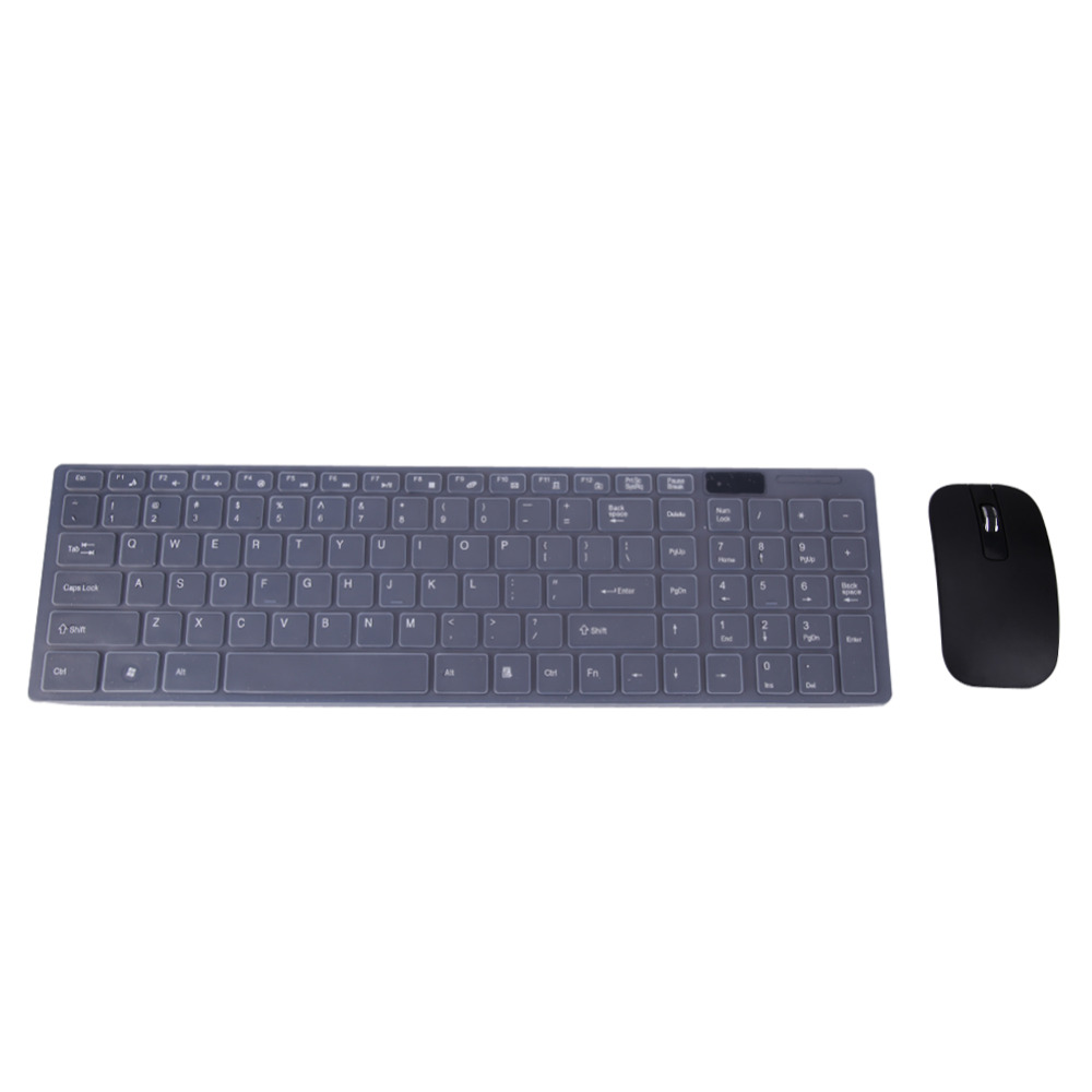 New Black 2.4G Optical Wireless Keyboard and Mouse USB Receiver +Keypad Film Kit for PC Computer Desktop Laptop Notebook клавиша смыва geberit sigma 50 белый хром 115 788 11 5