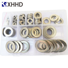Flat Plain Washer Metric Flat gasket Set Assortment Kit 304 Stainless Steel Hardware M5 M6 M8 M10 M12 M14 M16 M18 M20 M22 M24 qintides m14 m16 m18 m20 m22 m24 hexagon domed cap nuts 304 stainless steel acorn nuts ball head cap nut