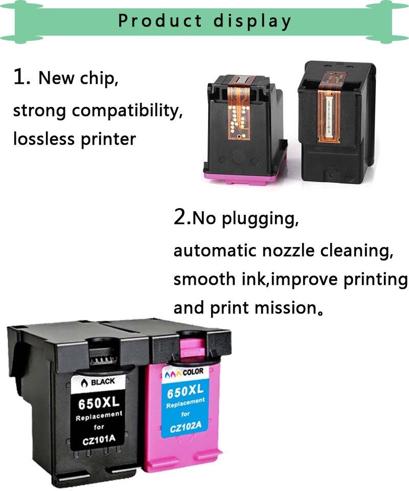 hp 650xl Deskjet 1015 1515 2515 2545 2645 3515 4645 Printer