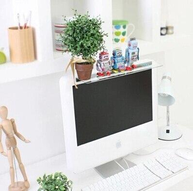 2db / set Keyboard Shelf Többfunkciós asztali tárolóállvány - Szervezés és tárolás - Fénykép 2