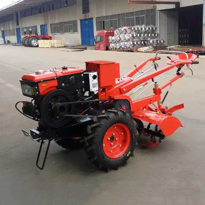 High Quality 15HP Agricultural Vehicle Farm Walking Tractor