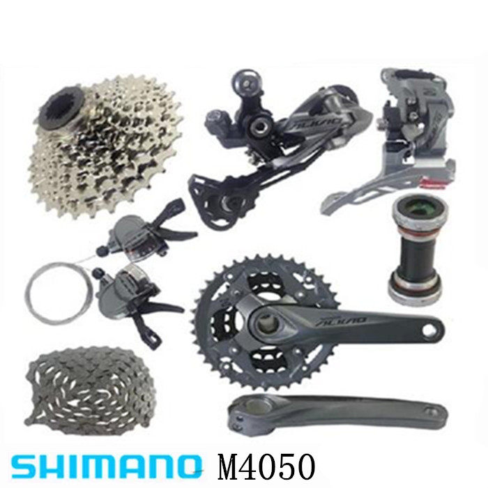 Cooperative Shimano Alivio M4000 M4050 T4060 3x9s 27s Speed Mtb Bicycle Groupset With Hydraulic Disc Brake Integrated Sports & Entertainment Bicycle Derailleur