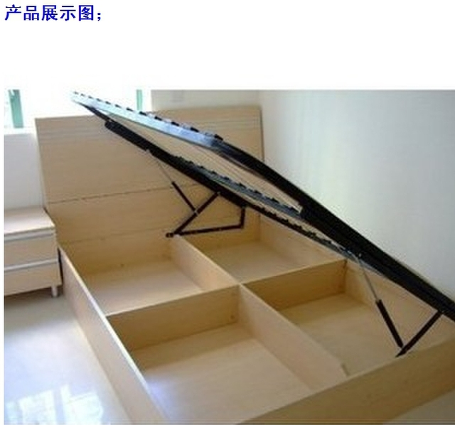Acolchado cama bastidor de soporte cama con apoyo aéreo marco de la ...