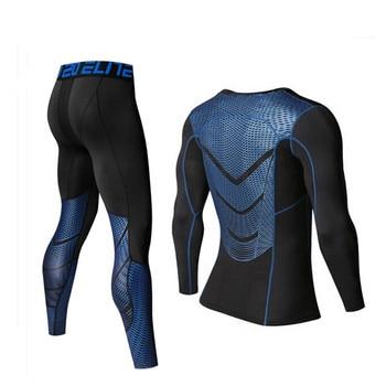 6b2b2c0609 Nueva primavera conjuntos de ropa interior térmica de invierno de la marca  de los hombres de secado rápido Anti-microbiana Stretch es Thermo ropa  interior ...