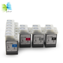 Winnerjet 12 Colors PFI-101 PFI-103 Compatible Ink Cartridge with Pigment for Canon IPF5100 IPF6100 Printer