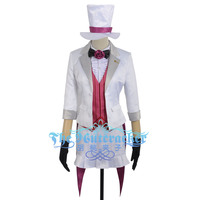 8179507ed5d4 Love Live Nico Yazawa Cosplay Costume Custom Made Spriped Vest Magician  Unawakened Skirt Suits Women Outfit