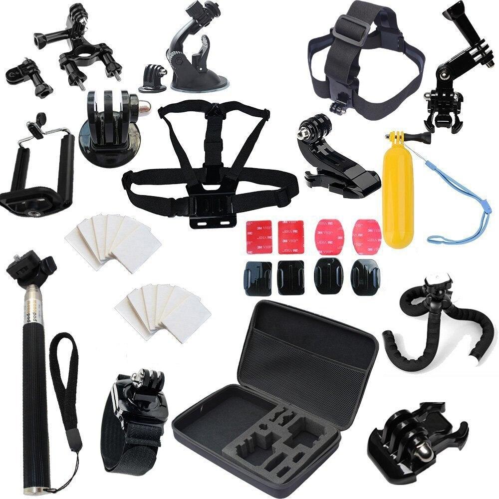 Prix pour Camera action yi 2 4 k xiaomi yi 4 k Accessoires pour xiaomi action Cam dbpower ex5000 Eken h9/h9r SJ6 LENGEND SJ7 gitup git2 pro