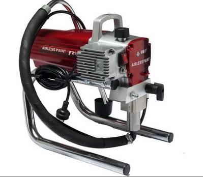 Pulverizador de pintura neumática impulsado por aire neumático F2100 Pintura de pared Pulverización Herramienta de pintura de alta presión