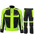 2016 riding tribu de verano/invierno de malla transpirable chaqueta de los hombres de la motocicleta moto chaqueta de carreras reflexivo jersey pantalones