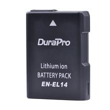 1pc EN-EL14 EN-EL14a ENEL14 EL14 camera Battery for Nikon P7800,P7700,P7100,D3400,D5500,D5300,D5200,D3200,D3300,D5100,D3100 etc