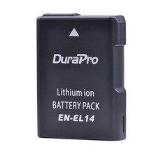 Bateria de Lítio Pack para Nikon Durapro En-el14 EN El14 Recarregável P7800 P7000 D5500 En-el14a D5300 D5200 D3200 3100 DF Bateria