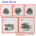 5 set/lot for Iphone 4 4G 4S 5 5G 5S 5C complete full screw screws set with dock bottom screw 100% Original new free shipping