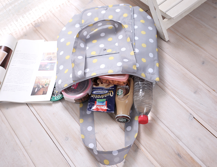 Custom Promotional Foldable Lunch tote bag Cooler Bag