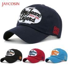 8a11a5cbb3f38 JAYCOSIN baseball cap Casual hat Women Men popular Letters Denim Baseball  Cap Snapback Hip Hop Flat