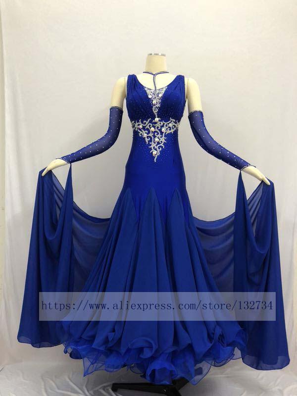 Ballroom Waltz Tango Ballroom Dance Dress, Smooth Ballroom Dress,Standard Ballroom Dress Girls B-0641