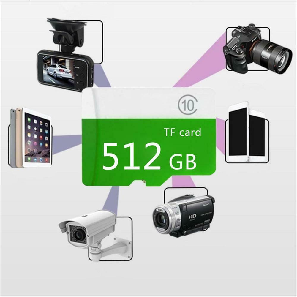 بطاقة ذاكرة ميكرو SD بسعة 8 جيجابايت 16 جيجابايت 32 جيجابايت 64 جيجابايت 128 جيجابايت 256 جيجابايت 512 جيجابايت الفئة 10 + Sd-Tf للهواتف/الكمبيوتر CH بطاقة ذاكرة ميكرو sd