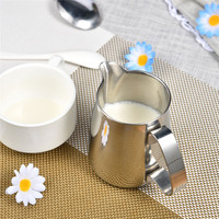 Stainless Steel Coffee Frothing Jug Pitcher Milk Bubble Foam Pitcher Cup For Coffee Lovers Kitchen Tools