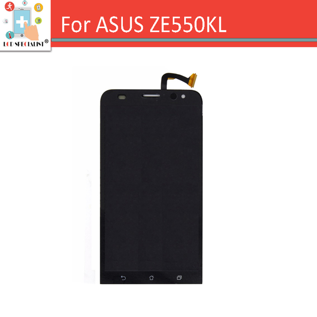 for Asus Zenfone 2 Laser ZE550KL Z00LD Full LCD Display Panel Screen + Touch Digitizer Sensor Glass Assembly Black