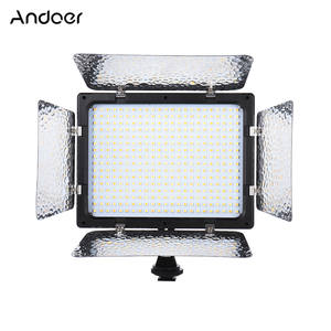 Andoer LED Video Light Filters w/Camera Mount Continuous Light Panel