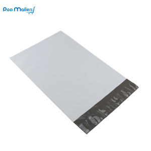 "100 Count 6""x9""/152x229mm White Poly Mailer Envelopes, Easy Peel"