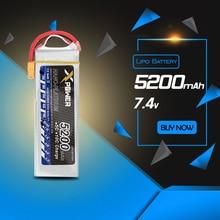 XPower 2 S 7.4 V 5200 mAh Lipo Batterie 25C-35C XT60 T EC5 RC Batterie Au Lithium-Polymère Batterie rc drone VS VOK