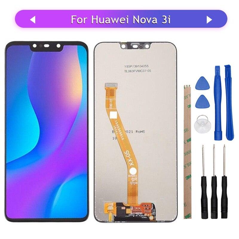 Original Huawei Nova 3 LCD Display Touch Screen Panel Huawei