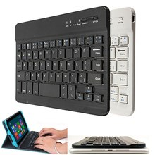 High Quality Ultra Slim Multimedia Aluminum Wireless bluetooth Keyboard For IOS Android PC For Windows For Ipad Air 3 Mini 2(China)