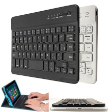 Alta calidad Ultra delgado Multimedia de aluminio de Bluetooth inalámbrico teclado para IOS Android PC para Windows para el Ipad aire 3 Mini 2