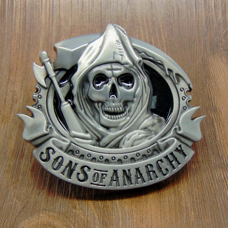 Fashion Skull Belt Buckle Metal Zinc Alloy Casual Buckle For Men Antique Cowboy Retail Buckle For Men Apparel Accessories