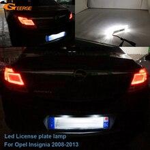Для Opel Insignia 2008 2009 2010 2011 2012 2013 отлично ультра яркий светодиодный фонарь освещения номерного знака светильник без OBC error