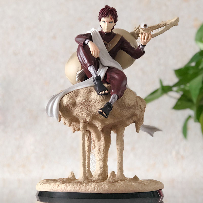 Anime Naruto Shippuden Gaara GK Statue PVC Action Figure Collectible Model Toys for Children Gift