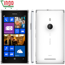 Original Nokia Lumia 925 Dual-core 1.5GHz 16GB Win8 OS 4.5'' 3G 8.7MP GPS WIFI Windows Phone Unlocked Refurbished