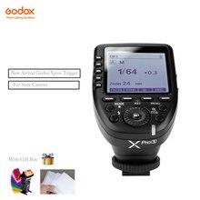 Em Estoque Godox xpro Xpro Xpro-s-c/n/f Transmissor Sem Fio TTL Gatilho 1/8000 s 11 Funções Personalizáveis para Sony Canon Camera