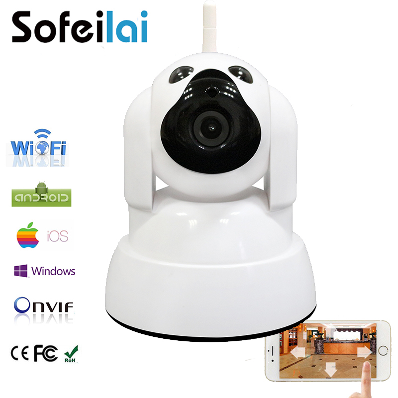720P HD WIFI IP camera wireless infrared pan tilt onvif sd card home security CCTV camara mini motion alarm p2p yoosee cameras