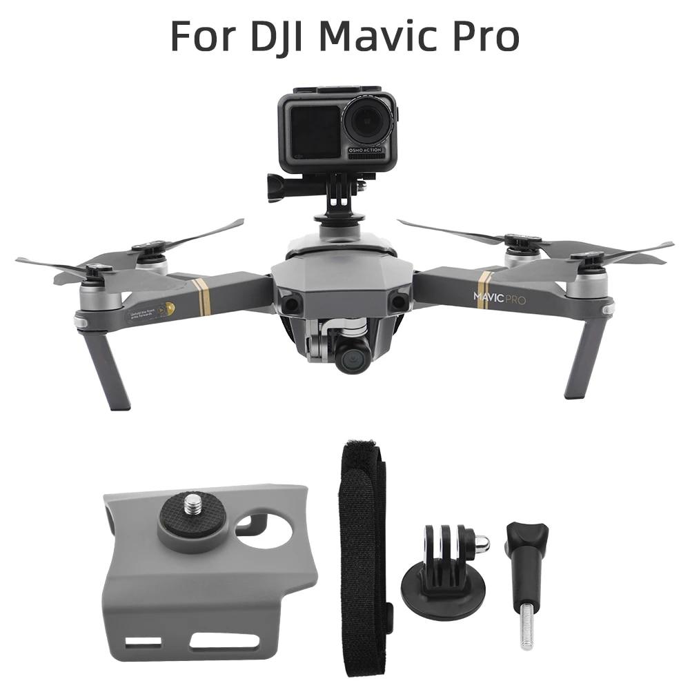 Osmo Action Insta360 Camera Fixed Holder Mount Bracket Kit For Dji Mavic Pro Drone Drone Accessories Kits Aliexpress