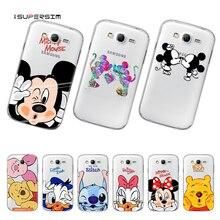 2036005773f Mickey Minnie Mouse para Samsung Galaxy Grand Neo Plus funda para Samsung  Galaxy i9060 caso Ultra
