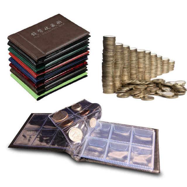 Russian Coin Album 10 Pages 120 Pockets Coin Collection Book Coin