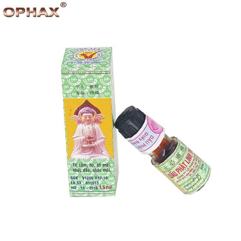 Natural Herbal Buddha oil anti mosquito for Headache Toothache Stomachache Pain Relief Balm Anti Dizziness Essential Balm Oil