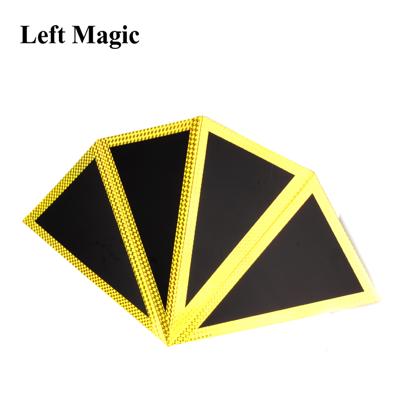 Funnel (Four-Screen Fan) Production  Magic Tricks Appearing Magie Stage Close Up Gimmick Prop Accessories