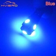 Wholesale High Quality Canbus White Blue 10Pcs T10