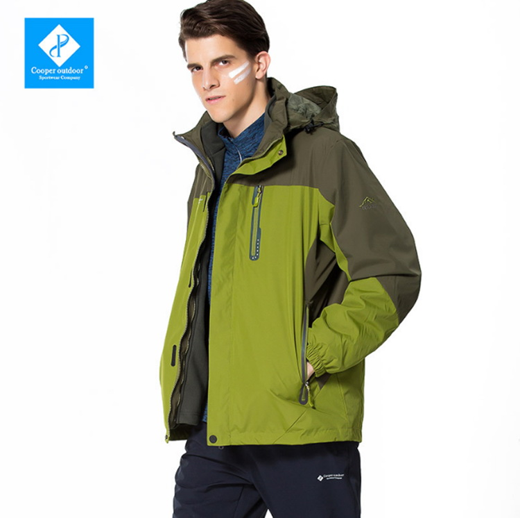 Outdoor Climbing Jackets Men Large Size Windproof Waterproof Sports Softshell Jacket  Traveling Camping Cycling Two-piece Coats camel outdoor men s soft shell jacket windproof warm climbing camping travel jungle off road softshell a6w2t7103